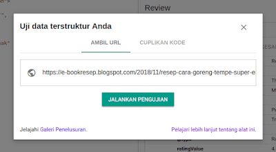 Rating Bintang Blog WordPress