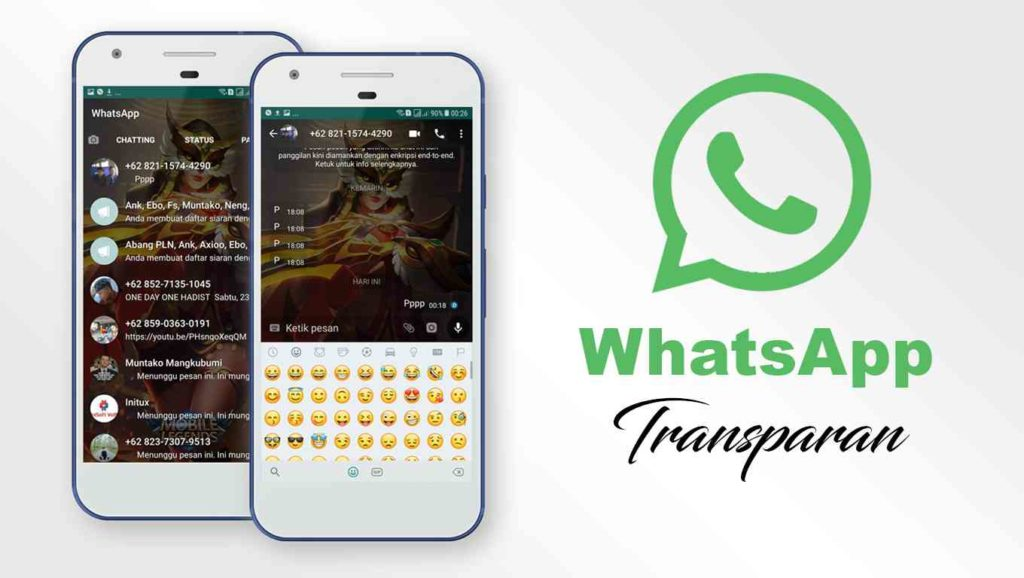 Download WhatsApp Transparan Apk Mod Terbaru
