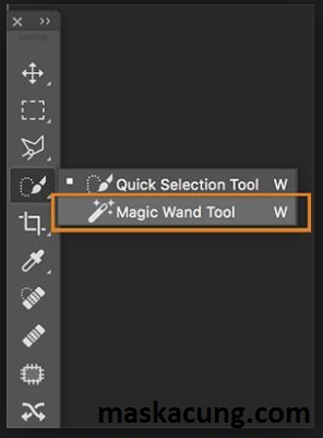 Cara menghilangkan background di photoshop dengan magic wand